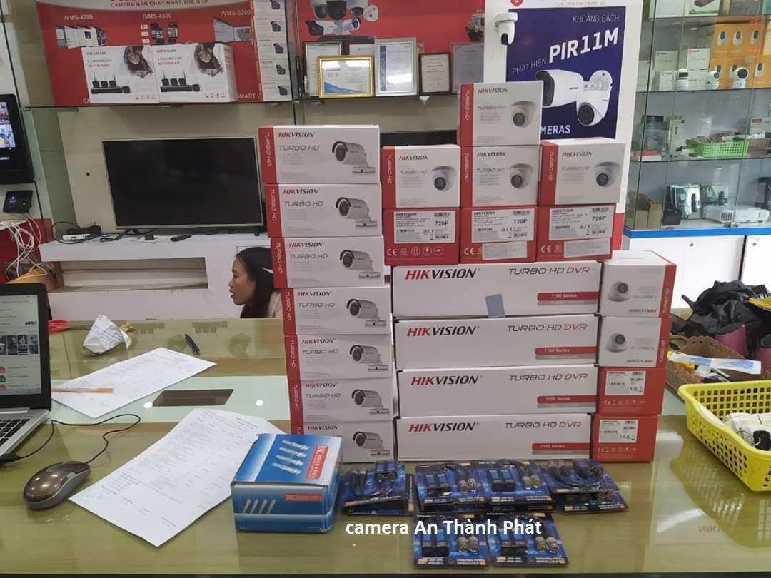 lắp camera giám sát văn phòng thương hiệu hikvision giá rẻ
