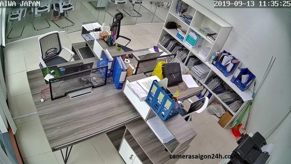 lắp camera kbvision wifi giám sát văn phòng