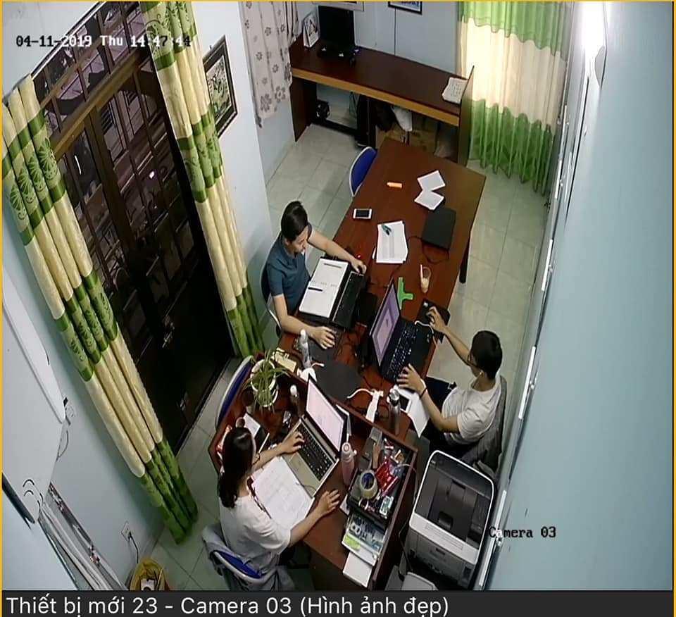 lắp camera wifi cho văn phòng giá rẻ giám sát qua điện thoại