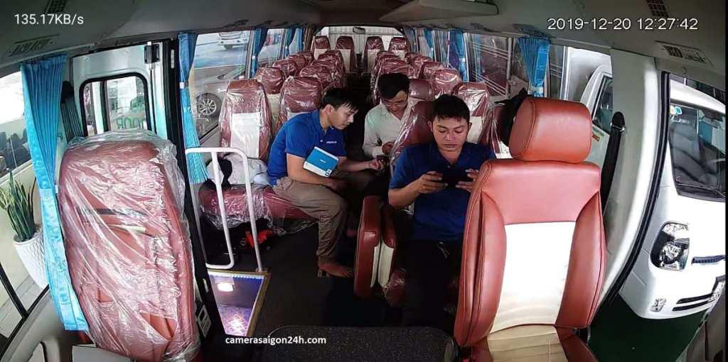 lắp camera giám sát trên xe chở học sinh mới
