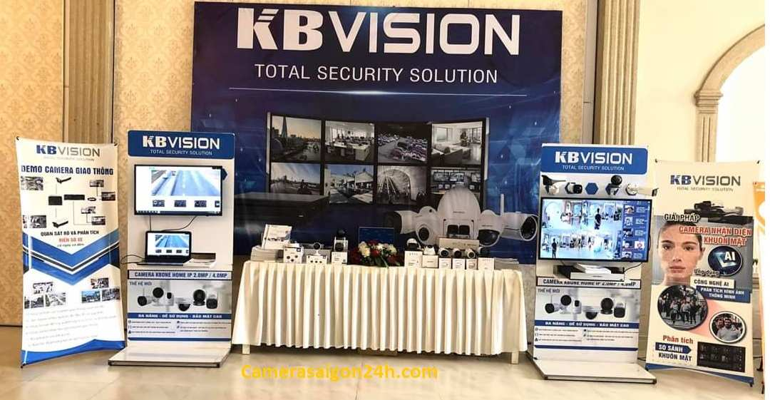 lắp camera giám sát hình ảnh sắt nét công nghệ mới kbvision