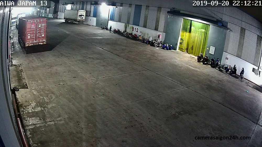 lắp camera kbvision cho kho hàng nhà xưởng giá rẻ kx-2111c4
