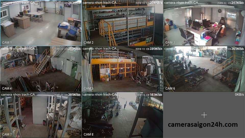 lắp camera giám sát nhà xưởng chất lượng giá rẻ