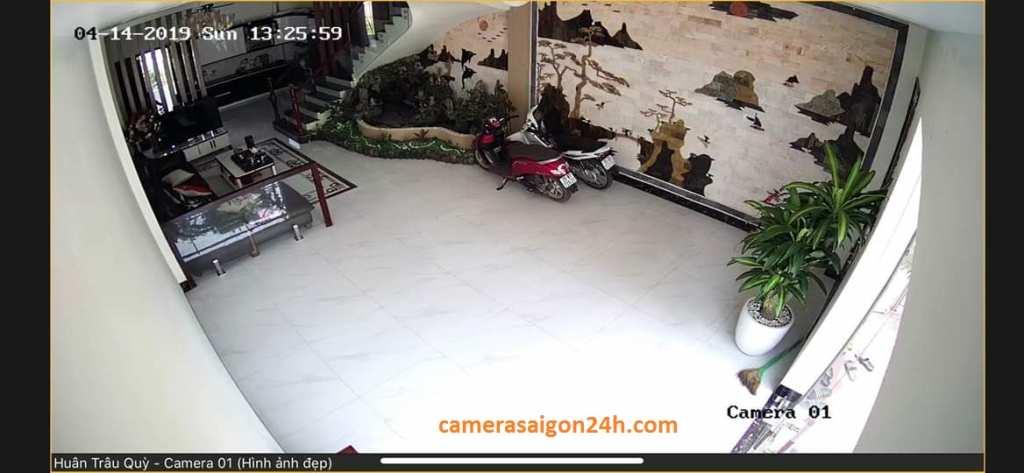 lắp đặt camera giám sát gia đình giá rẻ