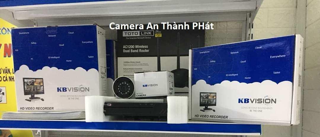 Lắp camera kbvision thương hiệu camera quan sát uy tín