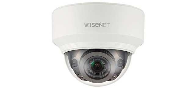 Camera IP Dome 5 Megapixel hồng ngoại Hanwha Techwin WISENET XND-8080RV