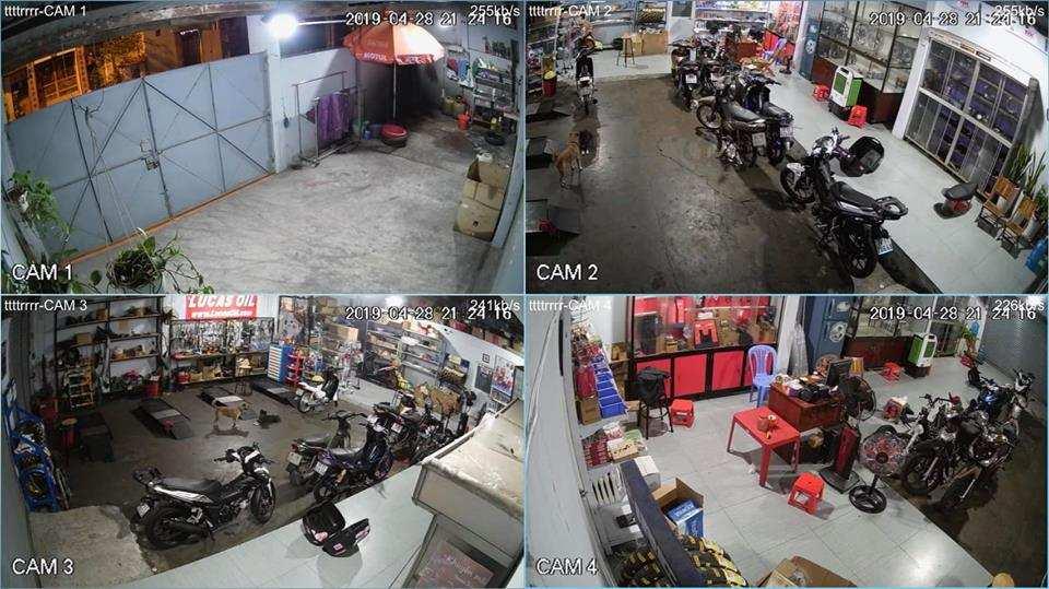 lắp camera quan sat gia đình cửa hàng dùng thương hiêu dahua