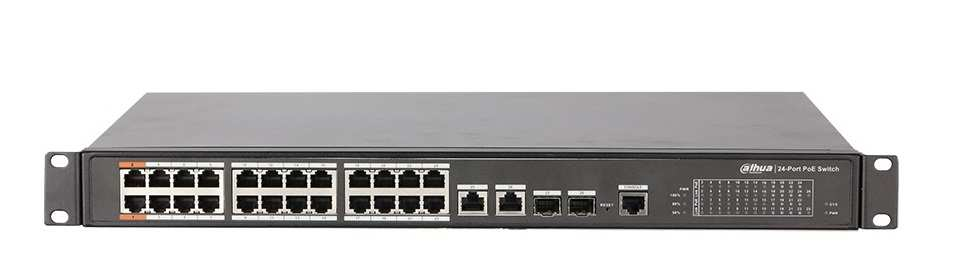 Switch PoE 24 Port Dahua PFS4226-24ET-240