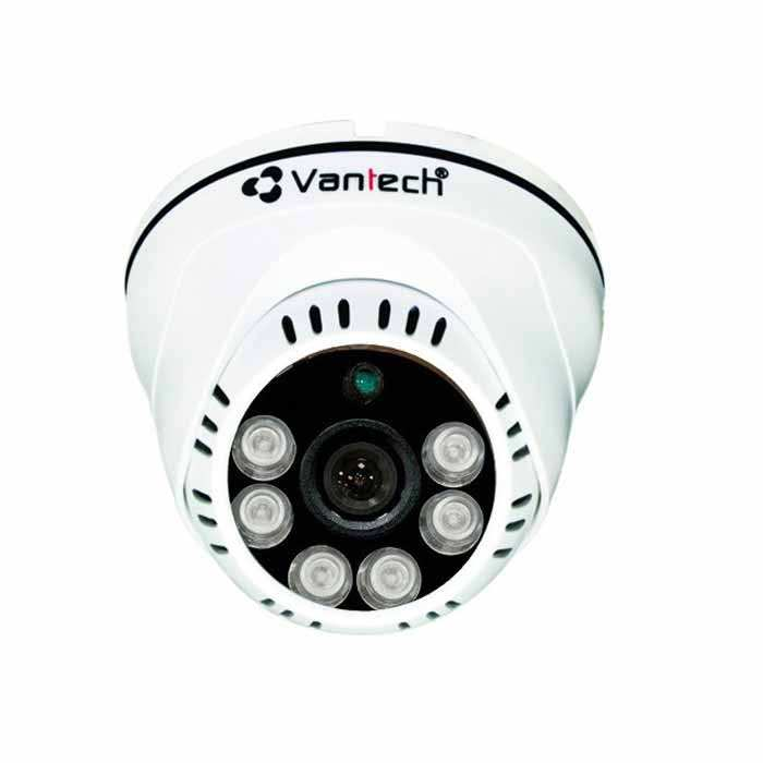 camera HDCVI Dome 2.0mp Vantech VP-1300C