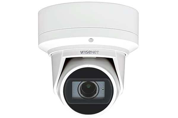 Camera IP Flateye- hong -ngoai -4.0- Megapixel- Hanwha -Techwin- WISENET- QNE-7080RVW