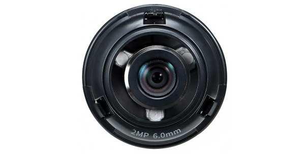 Ống kính camera 2.0 Megapixel Hanwha Techwin WISENET SLA-2M6000D