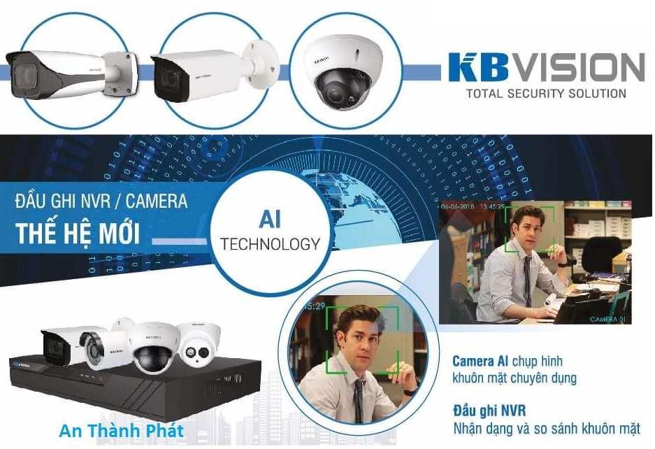 lắp camera quan sát văn phòng công ty kbvision chất lượng