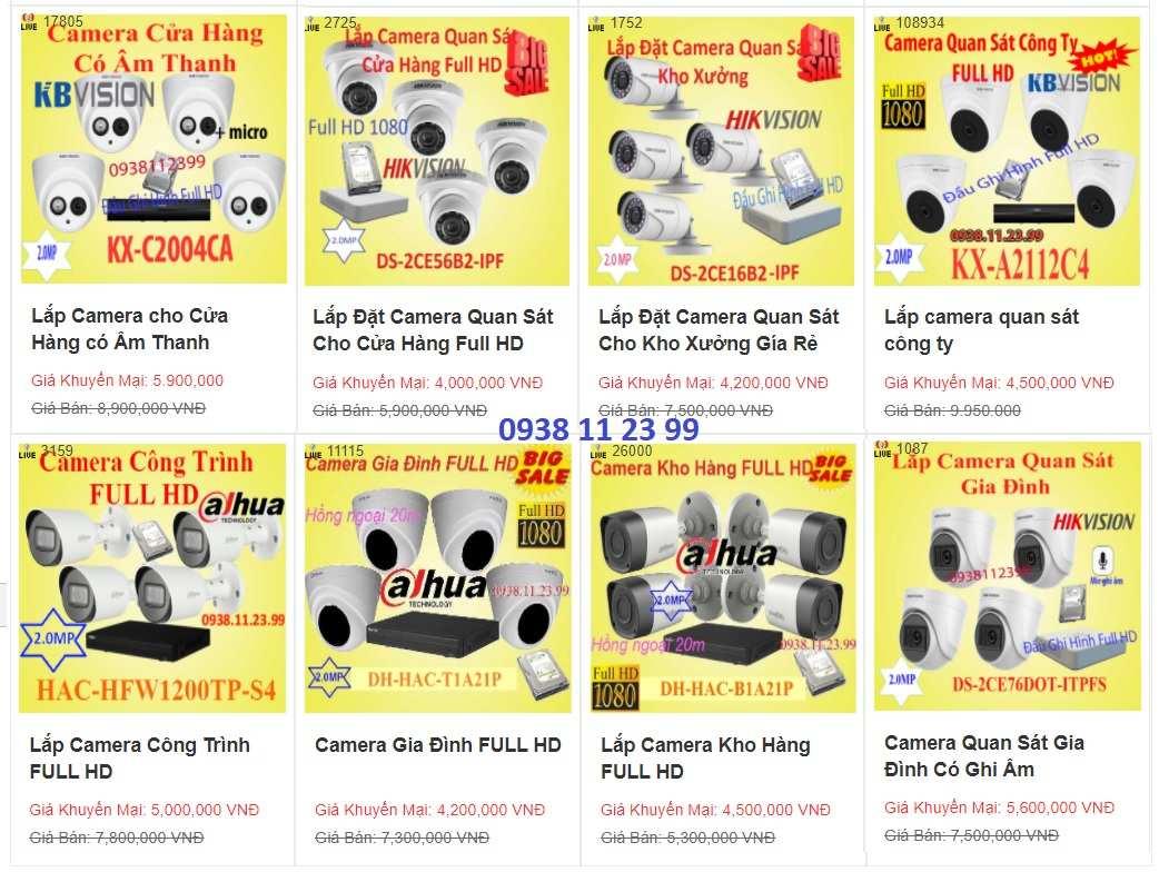 Lắp đặt camera cho cửa hàng hình ảnh HD/Full HD rõ né Lắp đặt camera quan sát cửa hàng thời trang