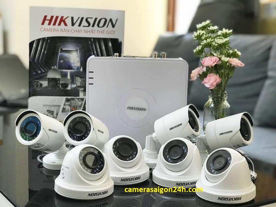 lắp camera giám sát văn phòng hikvision