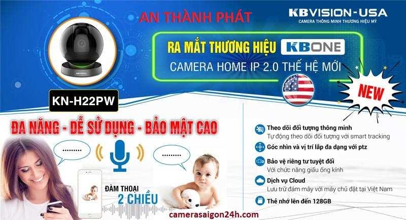 lắp camera wifi kbviison KN H22WN chất lượng