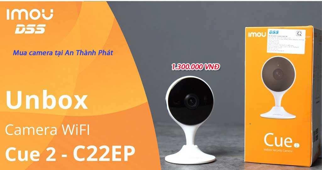 Lắp camera wifi dahua giá rẻ camera ipc c22ep imou