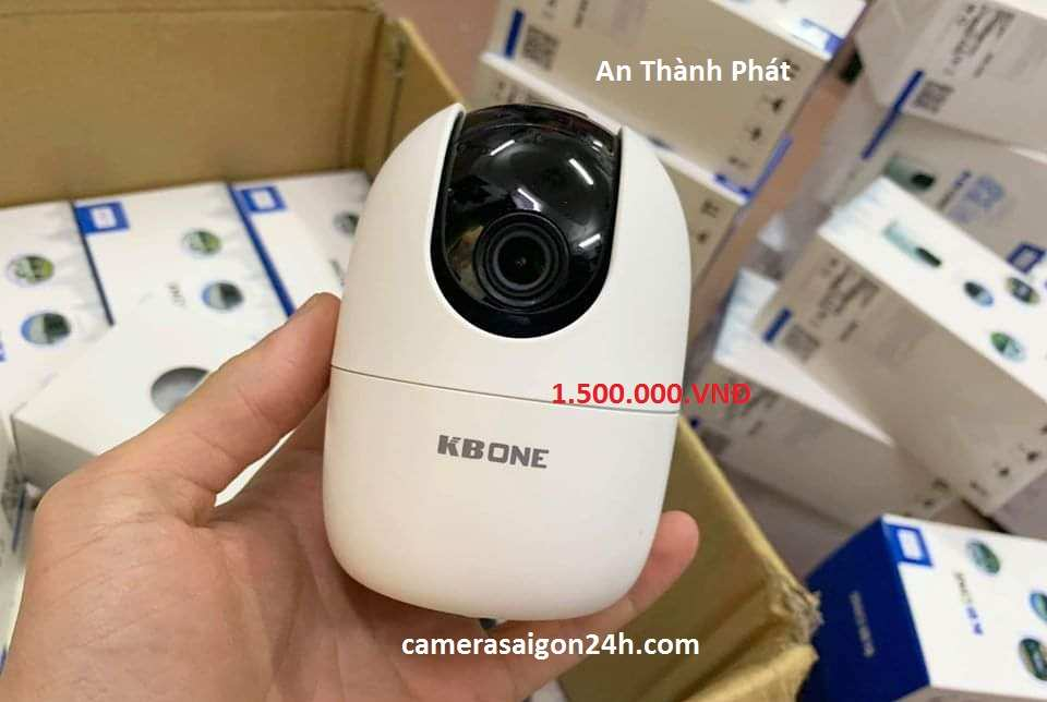 lắp camera giám sát wifi kbvision xoay 360 giá rẻ