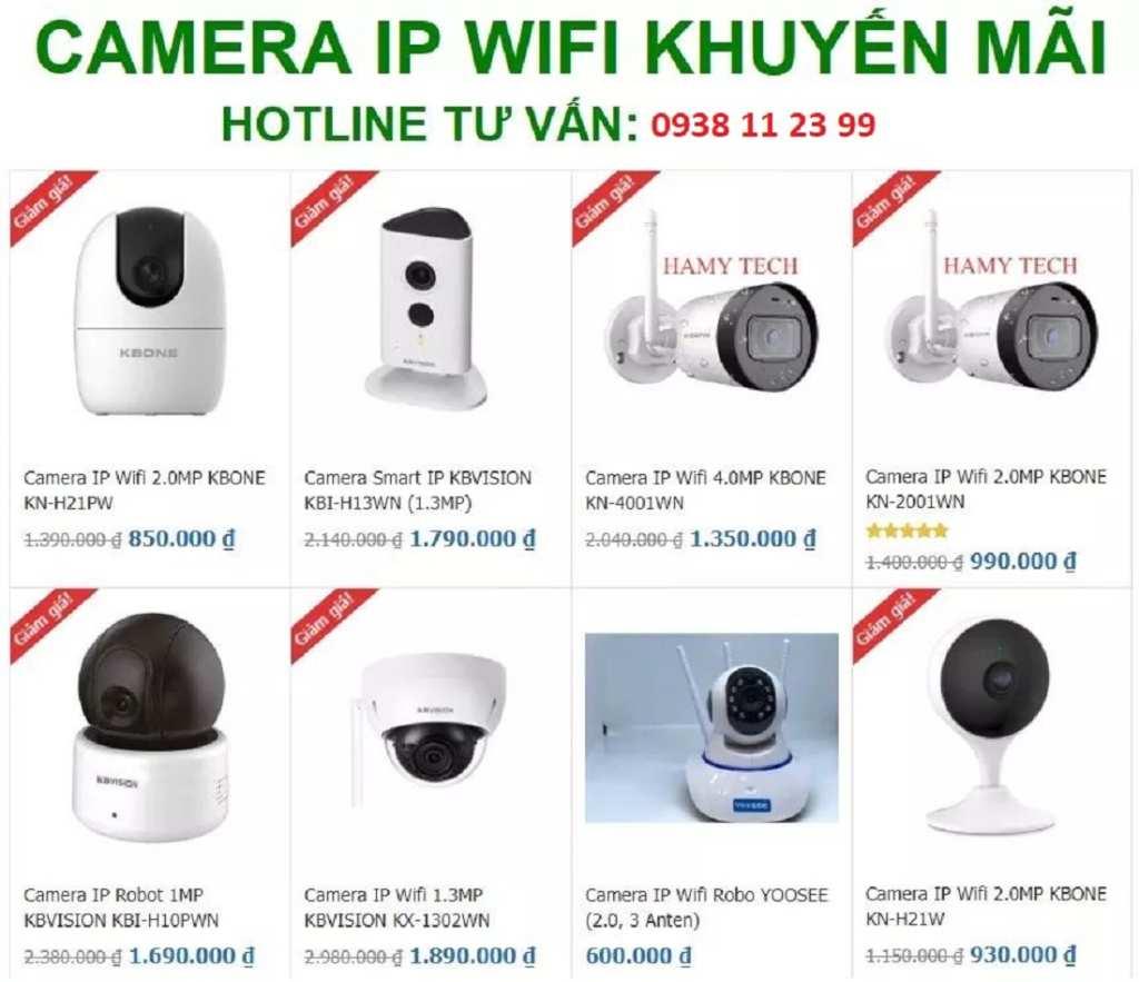 lắp đặt camera quan sát wifi giá rẻ chất lượng