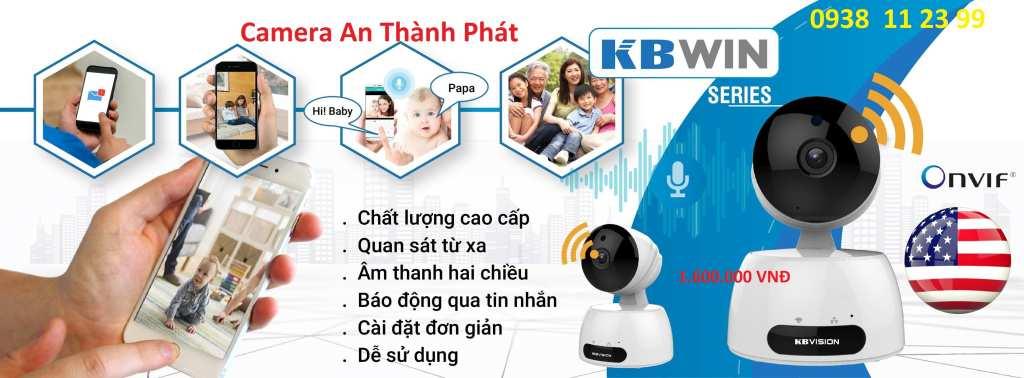 lắp camera wifi giá rẻ kbvision cho gia đình văn phòng