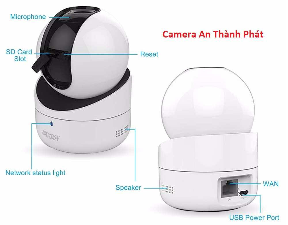 lắp camera giám sát hikvision chất lượng xoay 360