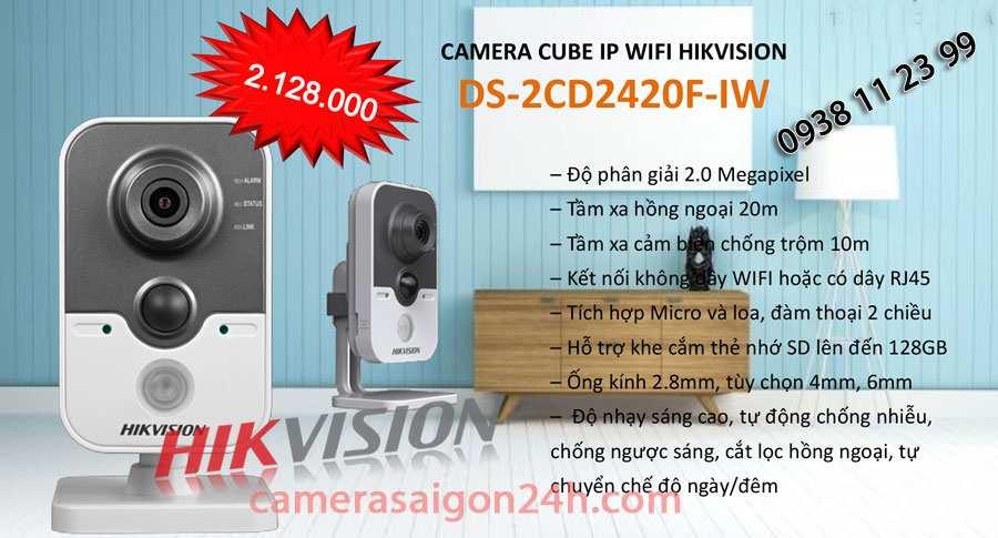 Lắp camera wifi hikvision giá rẻ chất lượng camera wifi