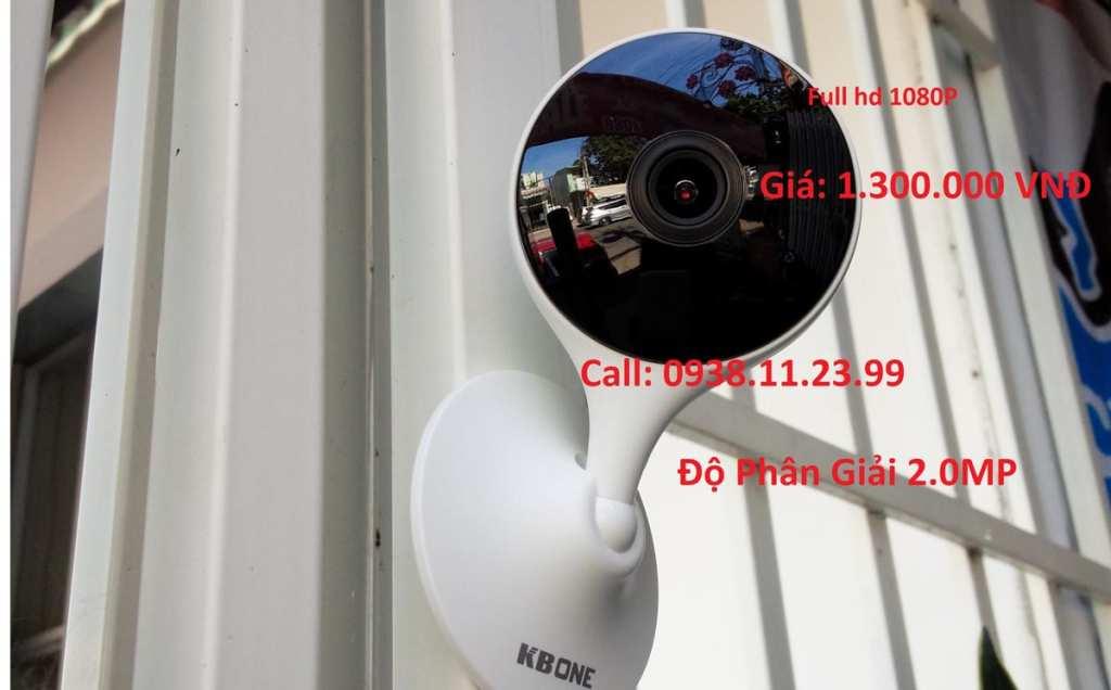 lắp camera wifi chính hãng kbone KN-H21W