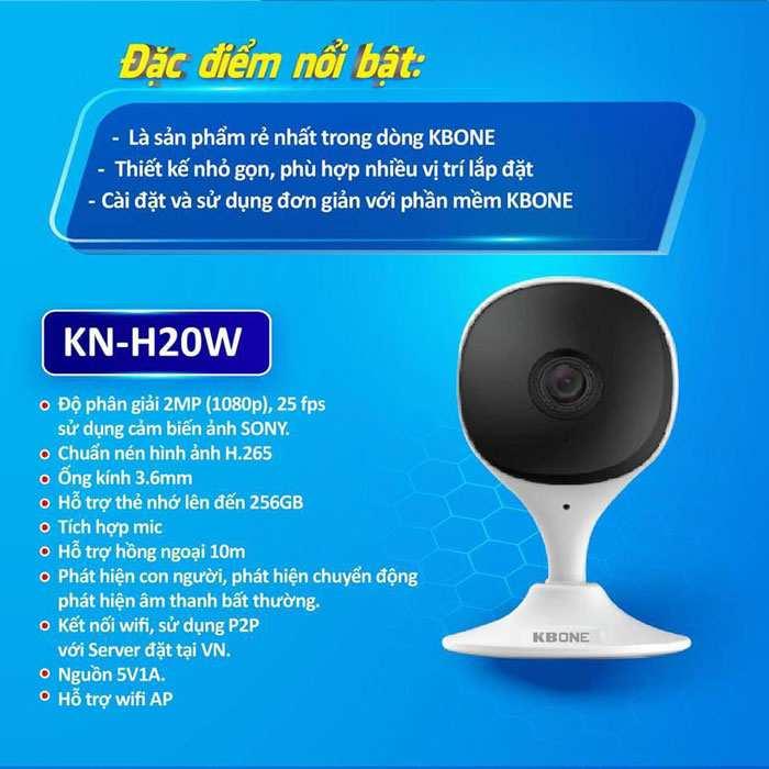 lap camera wifi kbone kn-h20w