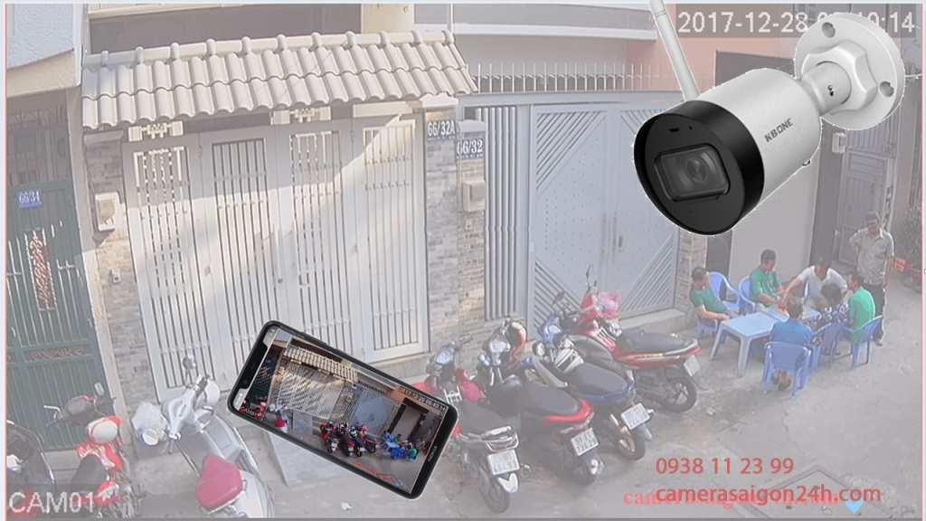 Lắp camera wifi công trình giá rẻ chất lượng tốt