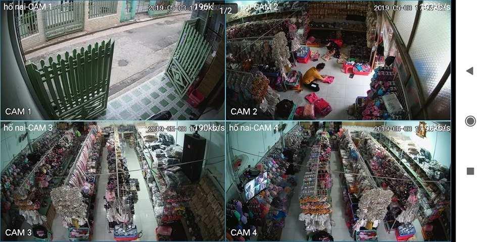 lắp camera cửa hàng tap hóa