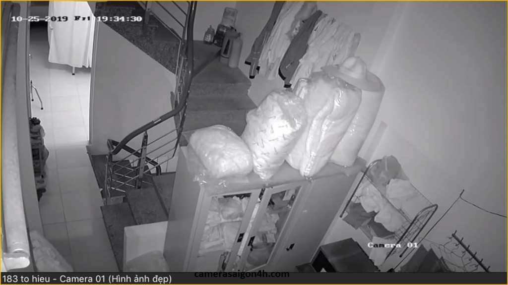 ghi hình ban đêm thực tế của camera ip ezviz c1c 1080P