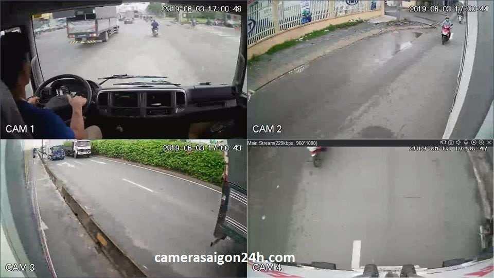 Lắp camera giám sát trên xe lạnh xe tải