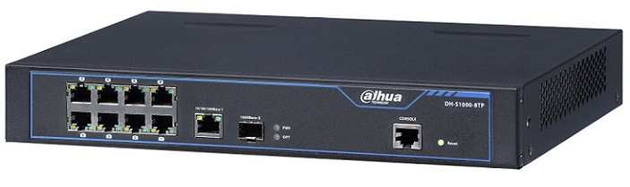 Switch-PoE- 8 -Port- Dahua -DH-S1000-8TP
