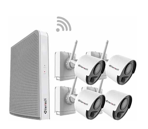 Bo- KIT- Camera- IP- Wifi- Vantech- VPH-B046PIR