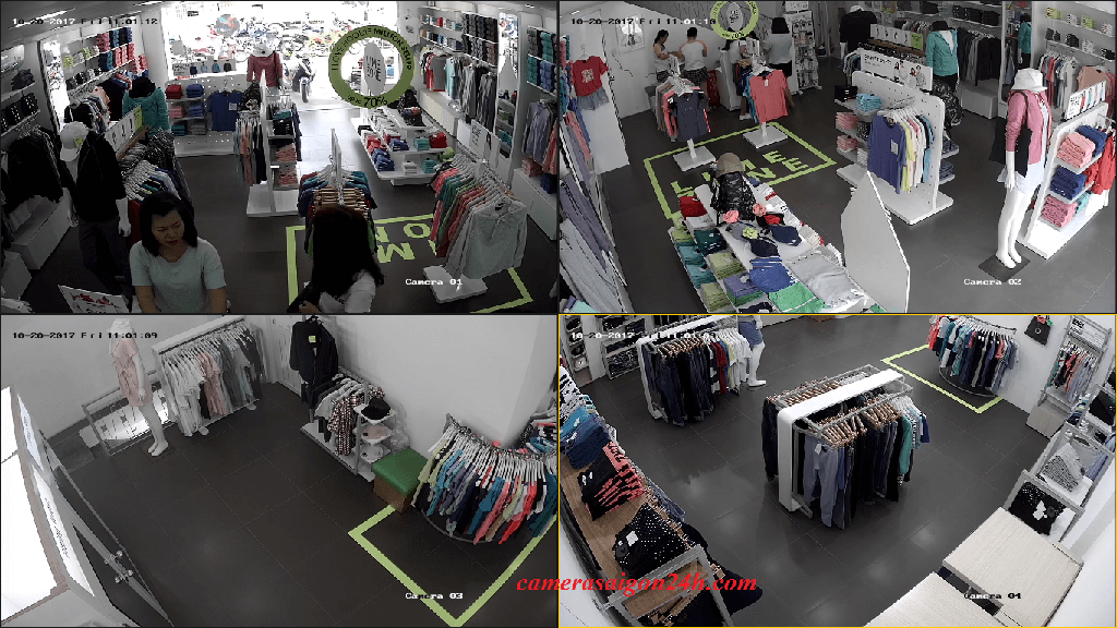 lắp camera quan sát cửa hàng shop chất lượng trọn bộ
