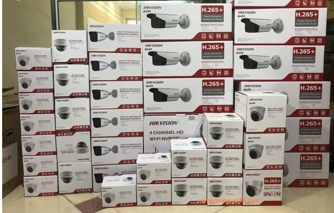 Lắp camera quan sát hikvision giá rẻ