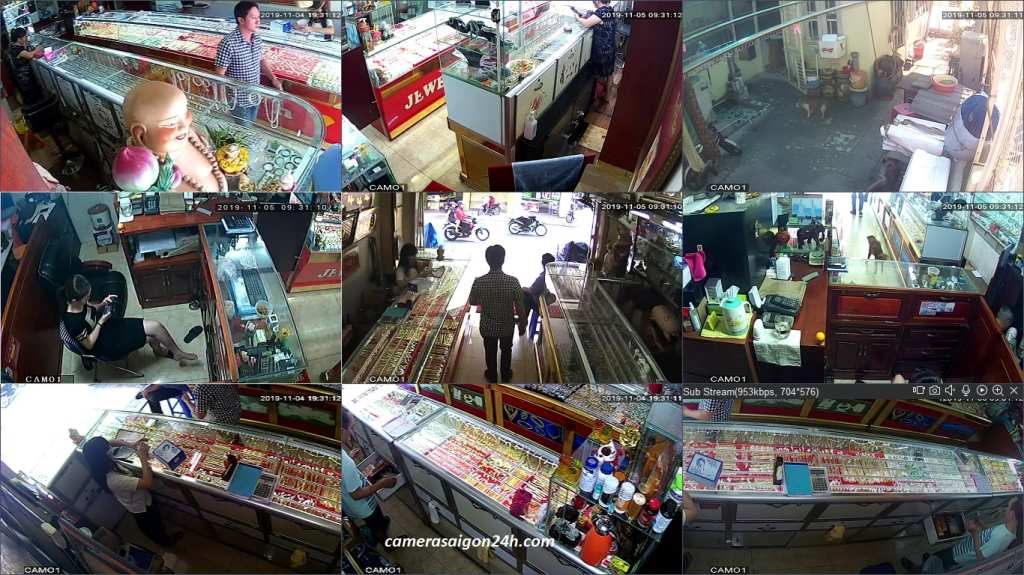 lắp đặt camera giám sát cho cửa hàng chất lượng giá rẻ