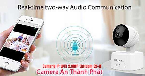 lắp camera wifi ebitcam chất lượng full hd 1080P 2.0MP