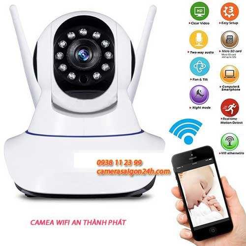 Lắp Camera wifi xem qua điện thoại giá rẻ