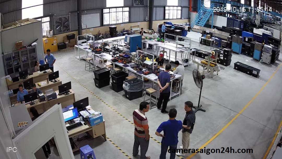 lắp camera giám sát nhà xưởng