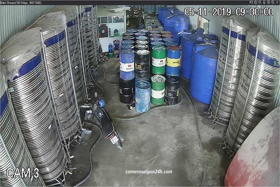 tư vấn lắp đặt camera giám sát kho xưởng