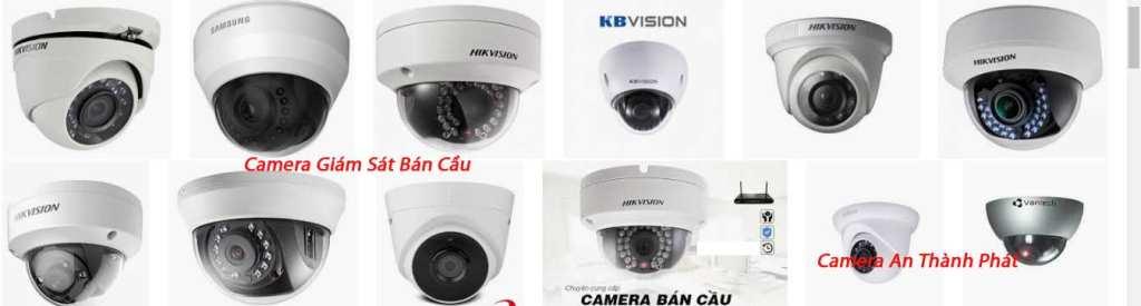 camera giám sát bán cầu