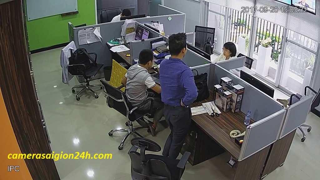 lắp đặt camera wifi giám sát văn phòng giá rẻ chất lượng