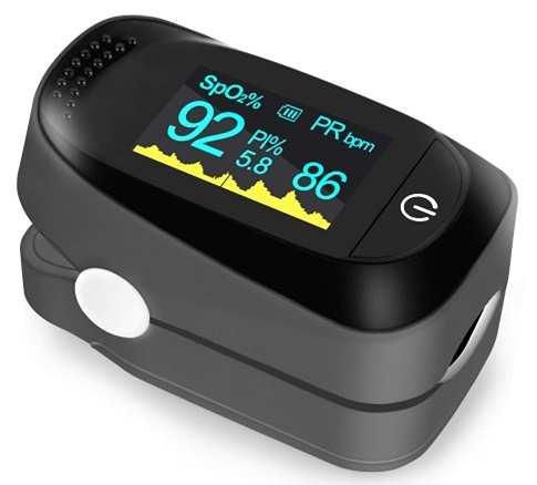 máy đo nồng độ oxy trong máu sp02