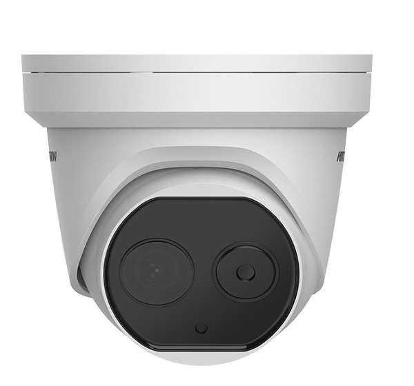 Camera IP Dome đo thân nhiệt HIKVISION DS-2TD1217B-6/PA(B)