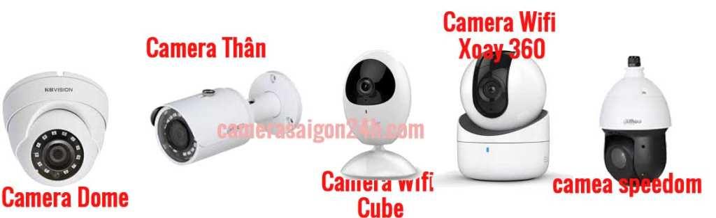 phân loại camera giám sát theo thiết kế