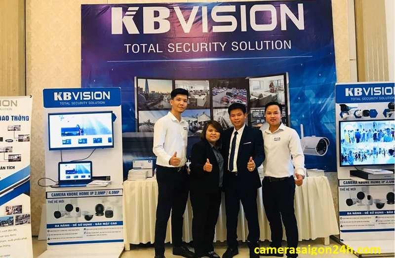 Thương hiệu camera quan sát kbvision chất lượng tốt