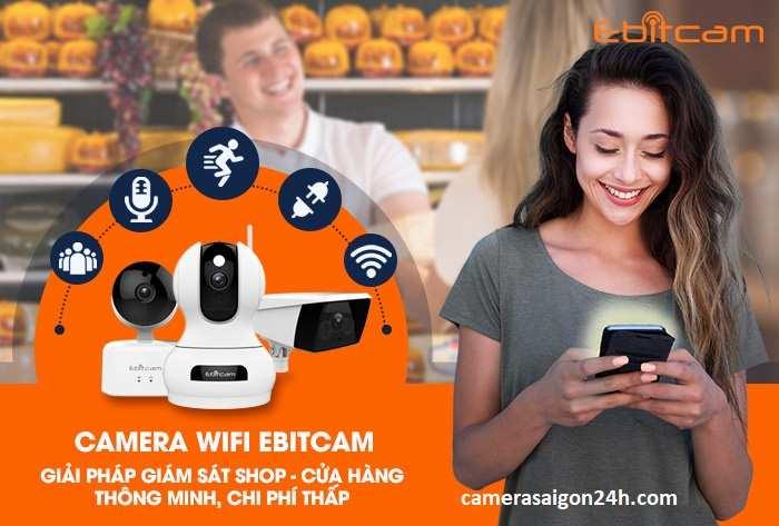 phân phối camera wifi ebitcam giá rẻ