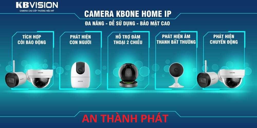 phân phối camera wifi kbvision chất lượng chính hãng