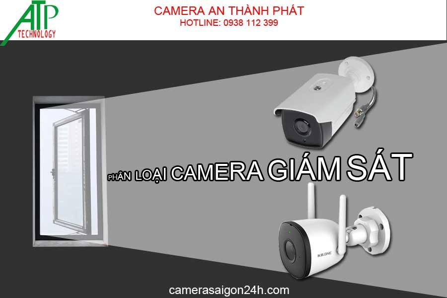 phân loại camera giám sát