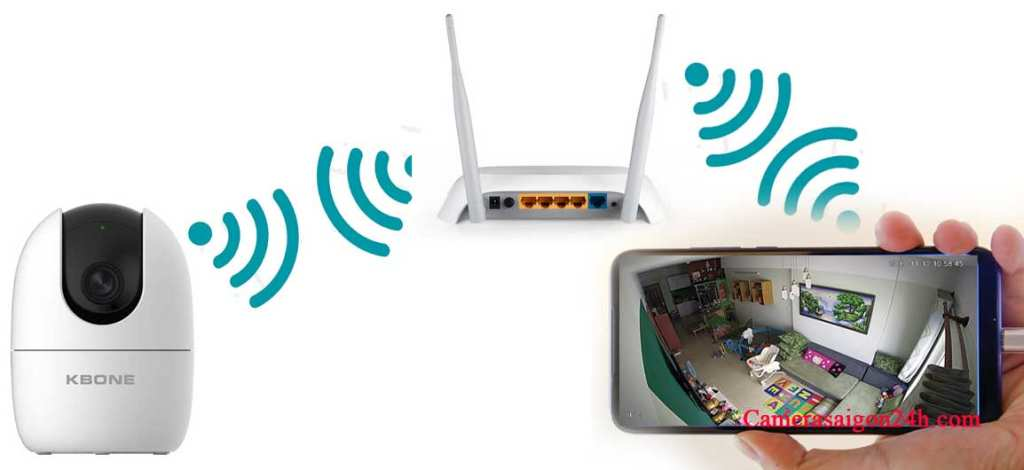 Lắp đặt camera wifi gia đình giám sát qua điện thoại